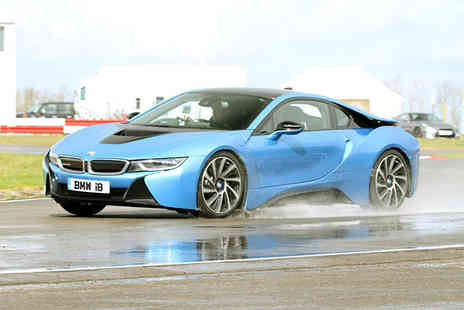 Experience Limits - Three lap BMW I8 weekday experience - Save 74%