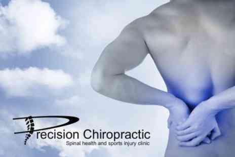 Precision Chiropractic - Consultation and Three Treatment Sessions For One Person £28.50 - Save 83%