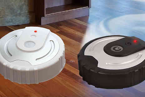 F & A Mediterranean Delicatessen - Robot Cleaner Mop in 2 Colours - Save 0%