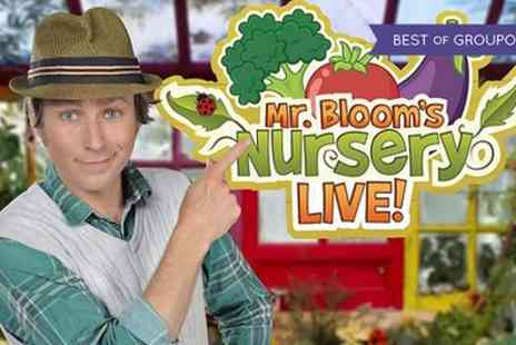 Mr Bloom Live - Tickets to Mr Bloom Nursery Live on 20 and 21 March - Save 36%