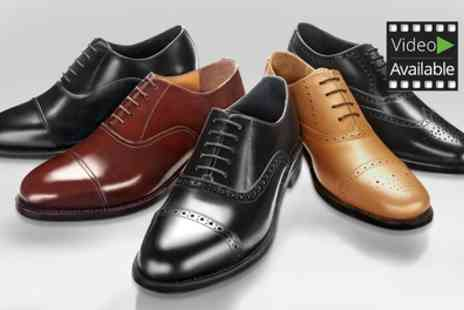 SW Shopes - One or Two Pairs of Samuel Windsor Mens Handmade Leather Shoes - Save 70%