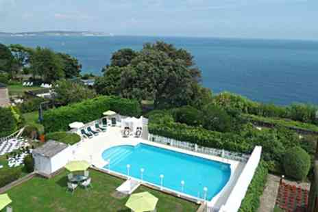 Luccombe Hall Hotel - One, Two or Three Nights Stay for Two with Breakfast, 3 Course Dinner, Ferry and Leisure Access - Save 41%