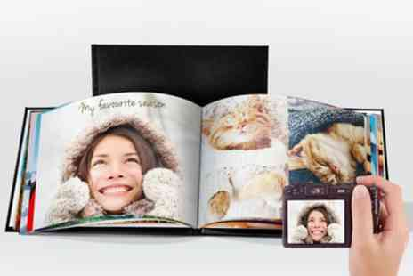 Printerpix - One or Two 100 Page A4 Leather Photobooks - Save 86%