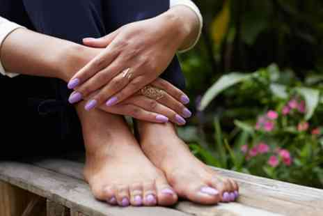 Sheffs Beauty Wellbeing - Shellac Manicure or Pedicure or Both - Save 0%