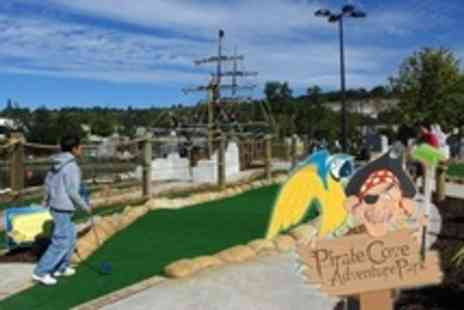 Pirate Cove Adventure Park - Round of Adventure Golf For Family of Four - Save 57%