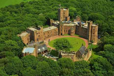 Peckforton Castle - Spa day for one including two 25 minute treatments and a glass of Prosecco - Save 36%