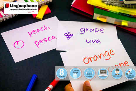 Vizual Coaching - An online Linguaphone Italian course - Save 88%
