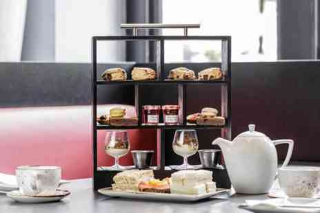 The Hilton Nottingham - Afternoon tea for two people with bottomless Conti DArco Prosecco - Save 0%