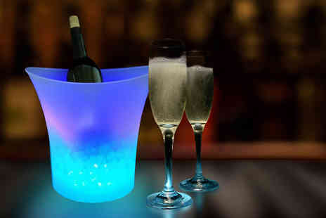 Bazaar me - LED Light Ice Bucket - Save 72%