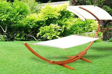 MHStar Uk - Swing Garden Hammock with Canopy - Save 38%