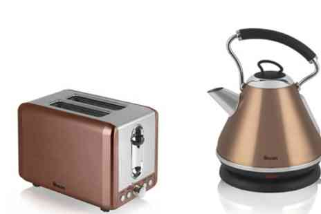 Groupon Goods Global GmbH - Swan Toaster and Kettle Bundle With Free Delivery - Save 0%