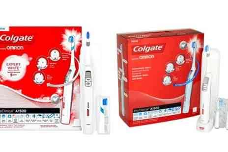 Groupon Goods Global GmbH - Colgate A1500 Electric Toothbrush - Save 76%