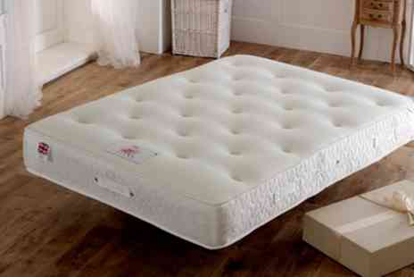 Groupon Goods Global GmbH - 3000 Cool Blue Pocket Mattress With Free Delivery - Save 72%