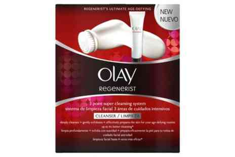 Groupon Goods Global GmbH - Olay Regenerist Three Point Super Cleansing System - Save 63%