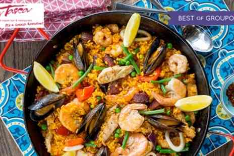 La Tasca - Paella and Wine or £40 to spend - Save 55%