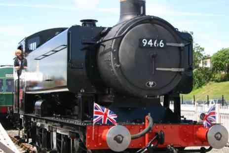 Barry Tourist Railway - Railway Experience for Two Adults or a Family of Five - Save 40%