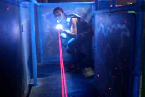 Quasar South Shields - Two Games of Laser Tag for Two - Save 50%