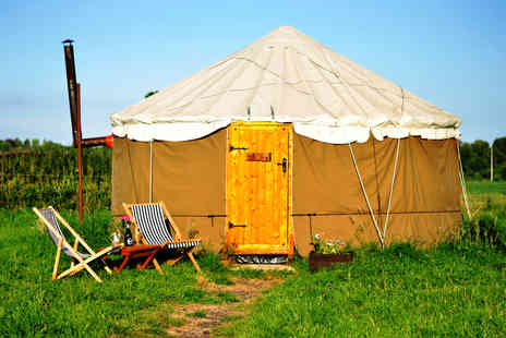 Worcester Glamping - Two, three or four night luxury glamping experience for up to four - Save 61%