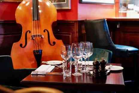Boisdale Mayfair - Dinner, Champagne & Live Jazz for 2 - Save 0%