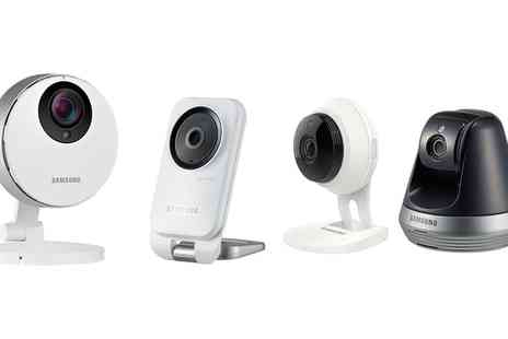 Groupon Goods Global GmbH - Samsung Home Security Cameras With Free Delivery - Save 44%