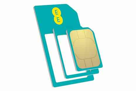 Chromevalue Holdings - EE SIM Card with £5 Credit - Save 0%