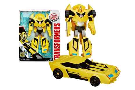 Groupon Goods Global GmbH - Transformers Hyper Change Heroes Bumblebee Figure - Save 43%