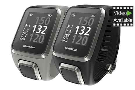 Groupon Goods Global GmbH - TomTom Golfer 2 Watch With Free Delivery - Save 0%
