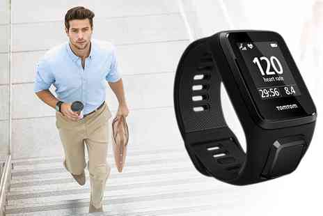 Groupon Goods Global GmbH - TomTom Spark 3 Cardio GPS Watch with Free Delivery - Save 0%