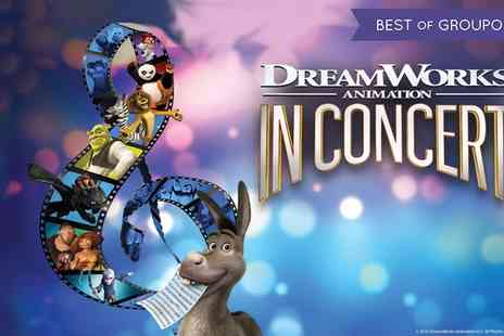 MJR - One price band B or C ticket to DreamWorks Animation in Concert On 28 November To 10 December - Save 20%