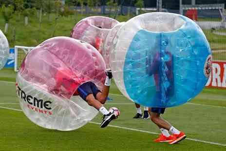 Xtreme Events - Bubble Football for Up to 15 People - Save 41%