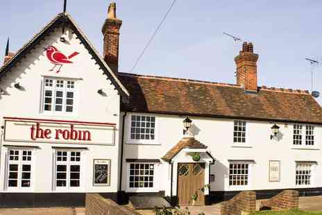 The Robin - Two Course Meal for Two or Four - Save 39%