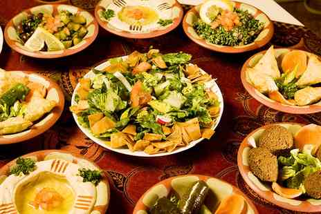 Marhaba Express - 11 Course Lebanese Tasting Menu with Wine for Two - Save 62%