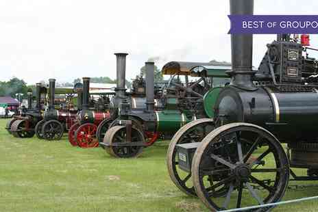 Wrotham Classic Steam and Transport Rally - Wrotham Classic Car and Steam Rally on 2 July - Save 19%