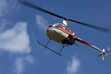 Heli Jet Aviation - Hover Challenge Experience for One or Two - Save 36%