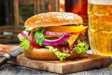 OMG - Burger with Beer for One or Two Course Meal With Wine for Two for Four - Save 0%