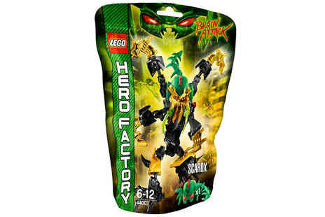 Ckent - LEGO hero factory action figure, choose from two fearless models - Save 87%
