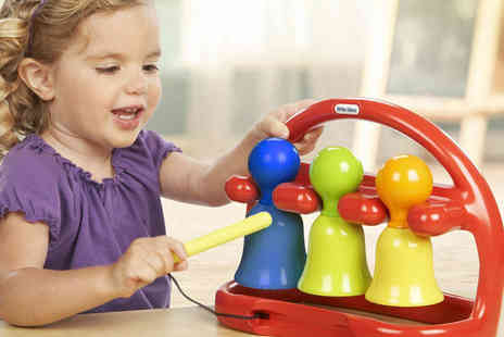 Ckent - Little tikes tap a tune bells set - Save 60%