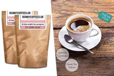 Skinny Coffee Club - 56 day weight loss programme - Save 50%