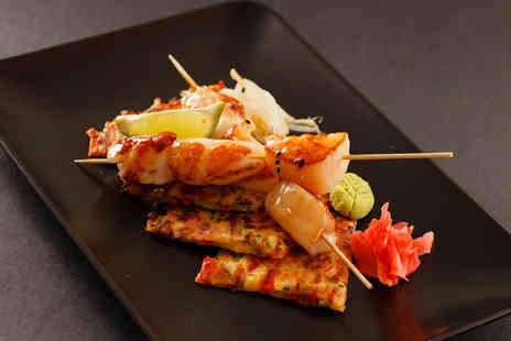 Koko Restaurant - Two course Japanese meal with a Prosecco cocktail each for two - Save 48%