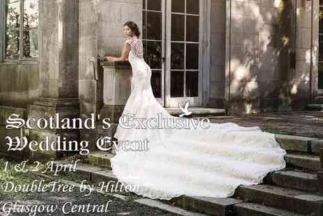 Scotlands Exclusive Wedding Event - Wedding show entry for two & cocktail for the bride - Save 37%