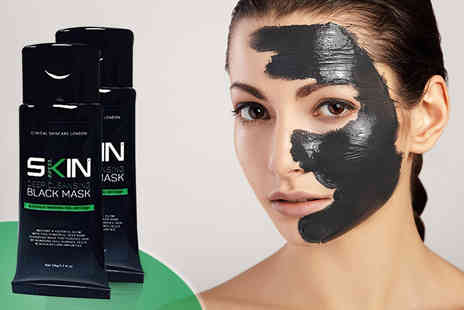 Forever Cosmetics - Two 50ml tubes of Skinapeel deep cleansing blackhead peel off mask - Save 87%