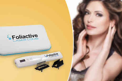 Natural Logistics - Foliactive Laser Comb For Hair Regrowth - Save 50%