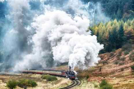 North Yorkshire Moors Railway - Award Winning Steam Train Day Trip for 2 - Save 40%
