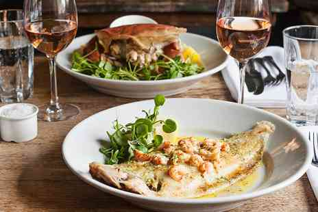 Box Inn - Two Course Lunch & Coffee for 2 at Cosy Wiltshire Inn - Save 54%