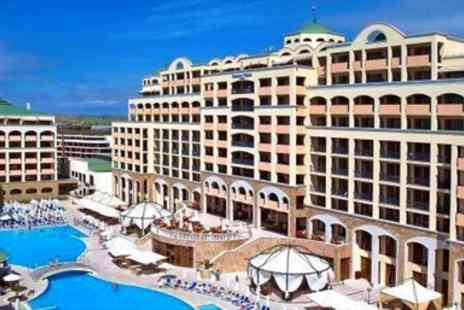 Going Luxury - Five Star All Inclusive Bulgaria Break at Beachfront Hotel - Save 0%
