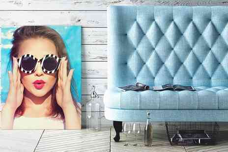 Photo Gifts - Personalised Photo Canvas - Save 82%