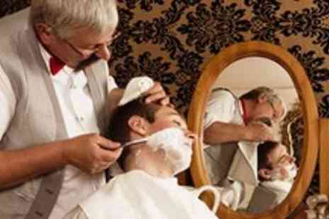 Clyde Barbers - Luxurious hot towel shave and haircut - Save 52%