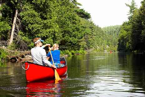 Hollybush inn - Three or Eight Mile Wye Trip with Canoe or Kayak Hire and Optional Picnic for Two - Save 53%