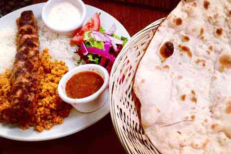 Rojava Restaurant - Hot and Cold Meze Feast for Two or Four - Save 0%