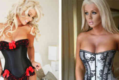 Love Lingerie - Corset in a choice of designs - Save 64%